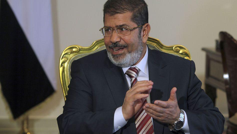 Ägyptens Präsident Mursi: Auftrag zur Regierungsbildung erteilt