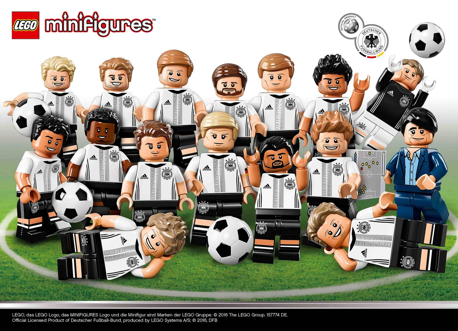 LEGO/ Die Mannschaft/ DFB
