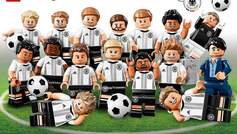DFB-Spieler als Spielfiguren