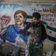 Syrische Künstler bedanken sich mit Graffiti-Porträt bei Merkel