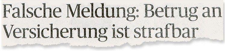 Aus dem »Trierischen Volksfreund«