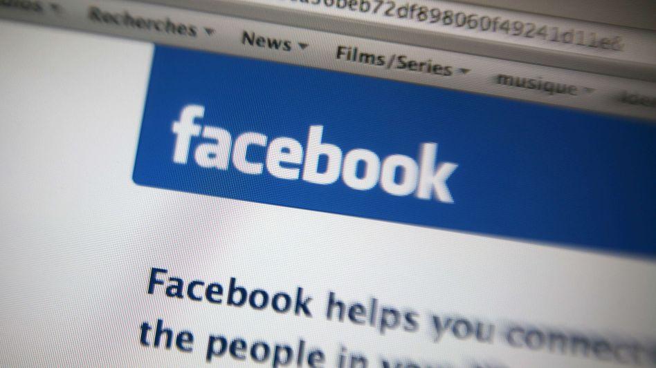 Facebook-Startseite: Warten auf den Börsengang
