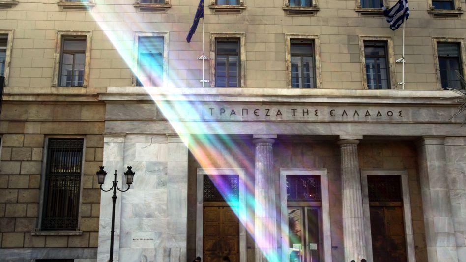 Griechische Zentralbank: Spekulanten profitieren vom erzwungenen Schuldenschnitt