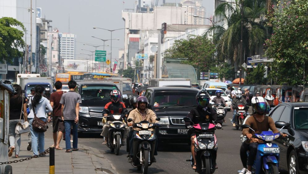 Von Beruf Mitfahrer: Ein Dollar pro Fahrt
