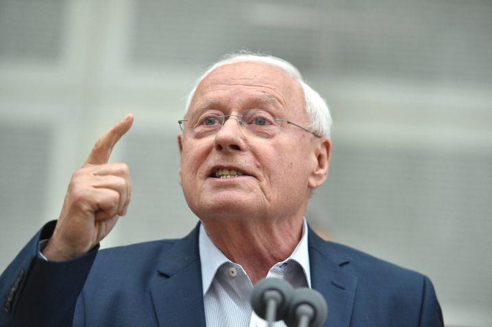 Oskar Lafontaine, Ex-SPD-Chef und Mitbegründer der Linken