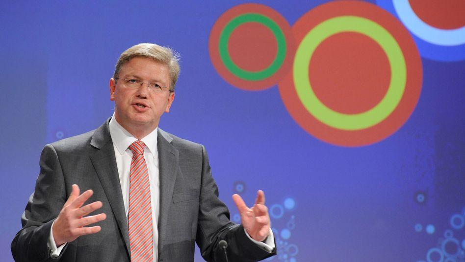 Erweiterungskommissar Füle: Bürgerrechte in der Türkei stärken