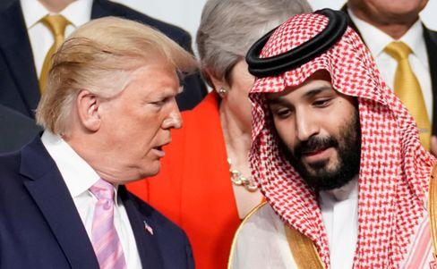 Kronprinz Mohammed bin Salman wurde zur Amtszeit von Donald Trump von Washington noch regelrecht hofiert