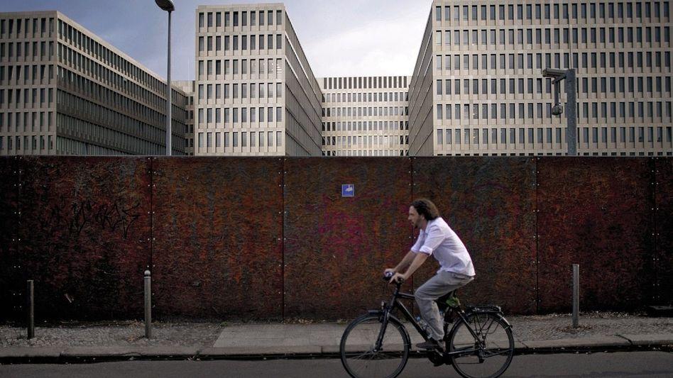 Künftige Zentrale des Bundesnachrichtendienstes in Berlin