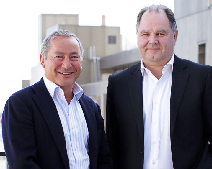 Samih Sawiris (links) und Dietmar Gunz