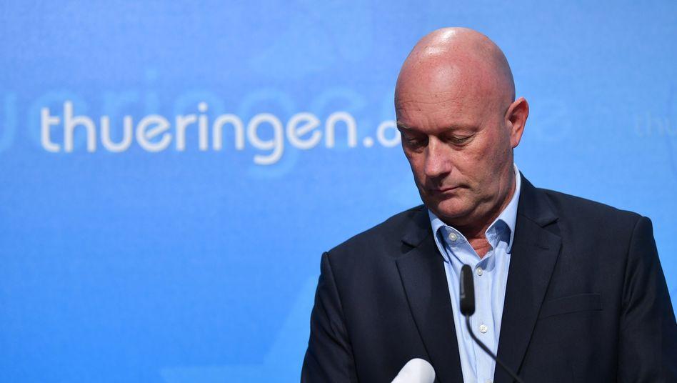 Plötzlich Ministerpräsident: Thomas Kemmerich