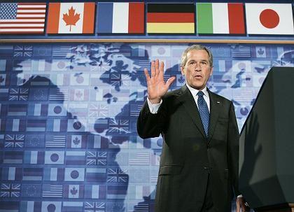 Bush: Lieber eine konservative Kanzlerin als ein sozialdemokratischer Kanzler?
