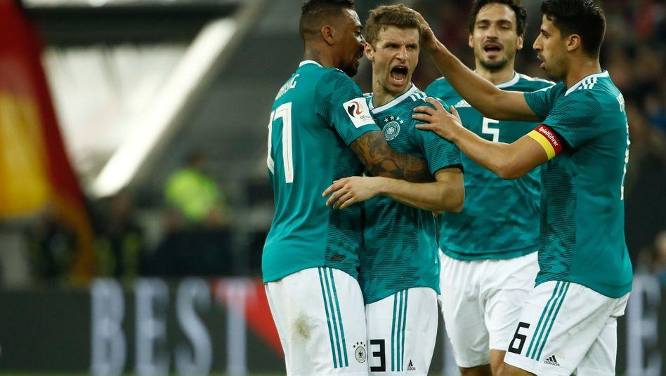 Jérôme Boateng, Thomas Müller, Mats Hummels, Sami Khedira