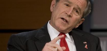 Fehler eingeräumt: George W. Bush wenige Wochen vor Ende seiner Amtszeit