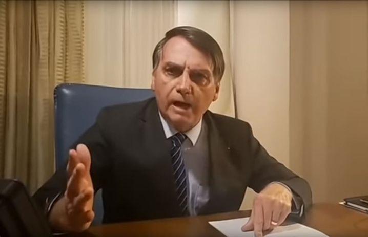 Tobt vor Wut: Jair Bolsonao, Brasiliens Präsident