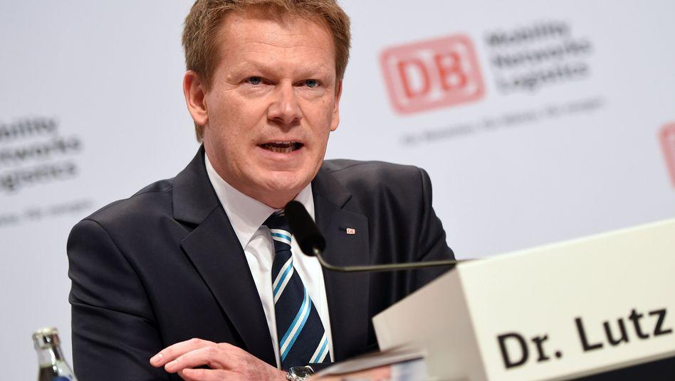 Bahn-Chef Richard Lutz