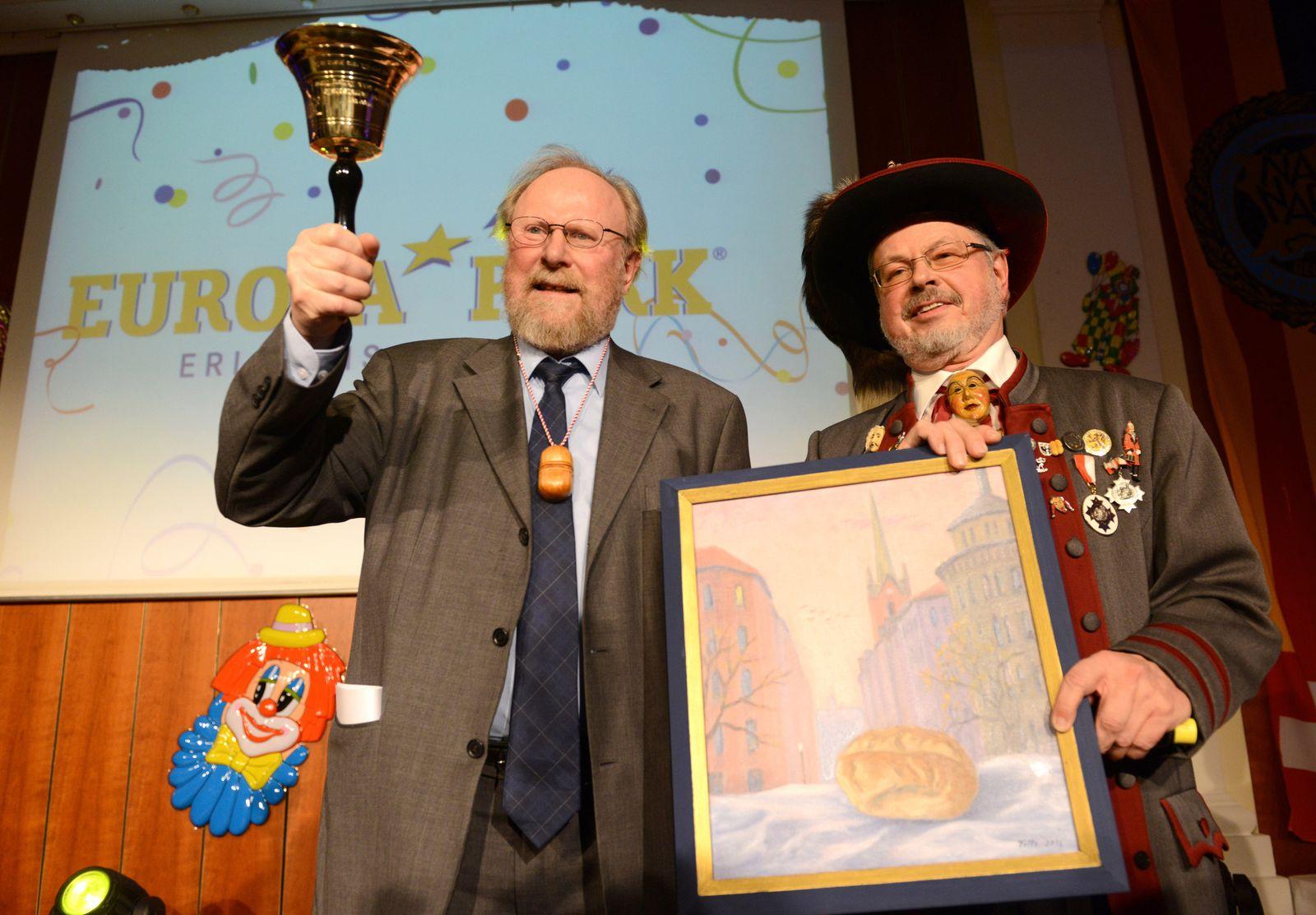 Wolfgang Thierse erhält Goldene Narrenschelle