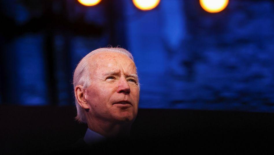 Designierter US-Präsident Joe Biden: »Koalitionen gleich gesinnter Partner und Alliierter bilden«