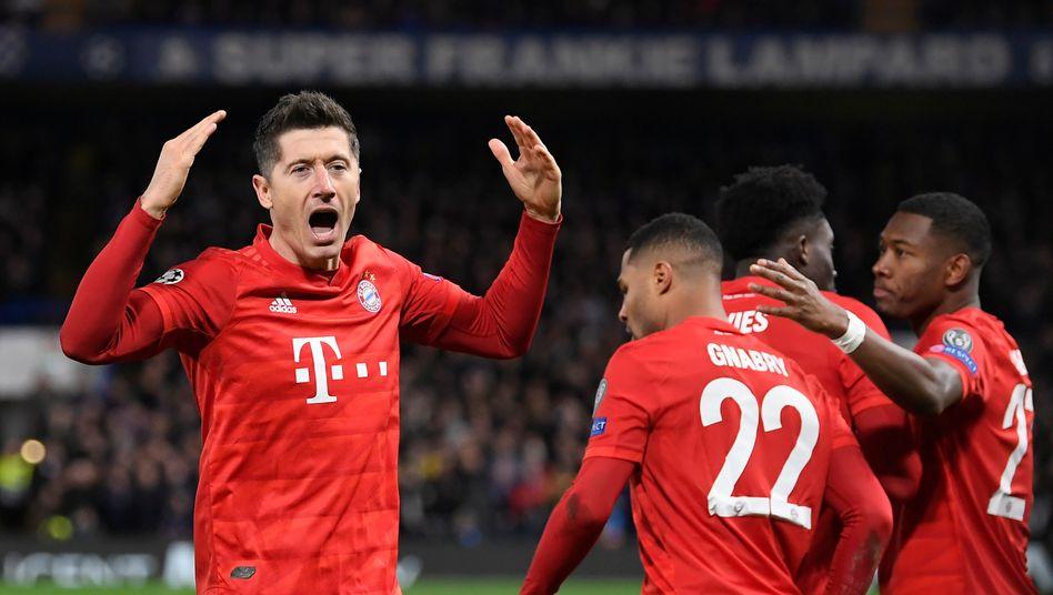 Bayern-Sieg gegen Chelsea in der Champions League: Zwei Tore Gnabry, zwei Assists Lewandowski, ein Schritt gen Achtelfinale