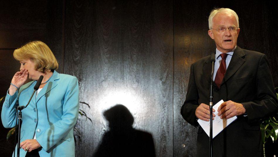 Kamen nicht zueinander: Hannelore Kraft (SPD) und CDU-Ministerpräsident Jürgen Rüttgers
