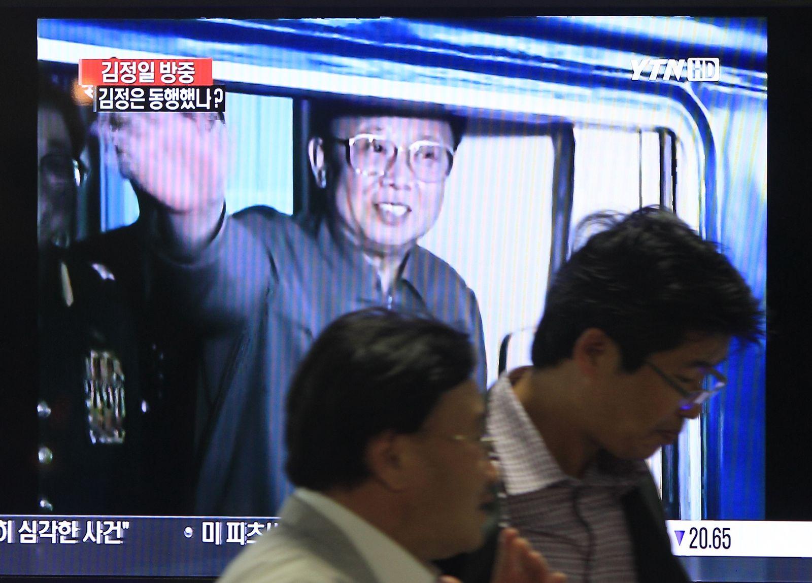 South Korea North Korea China Kim Jong Il