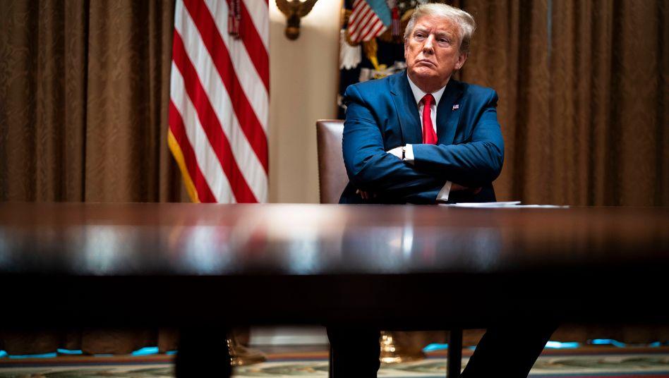 US-Präsident Donald Trump: Schuldzuweisungen an die WHO