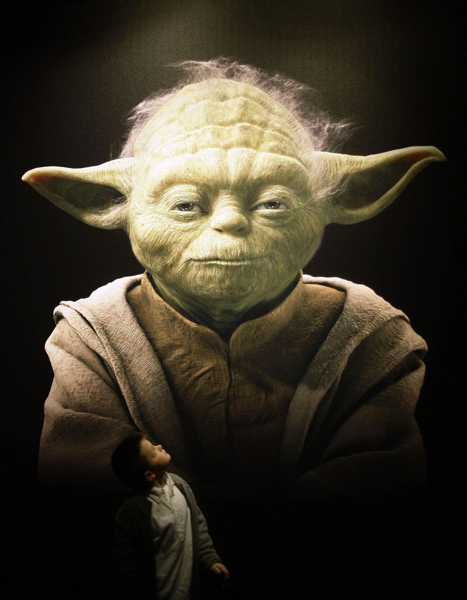 Yoda / Ausstellung / Star Wars