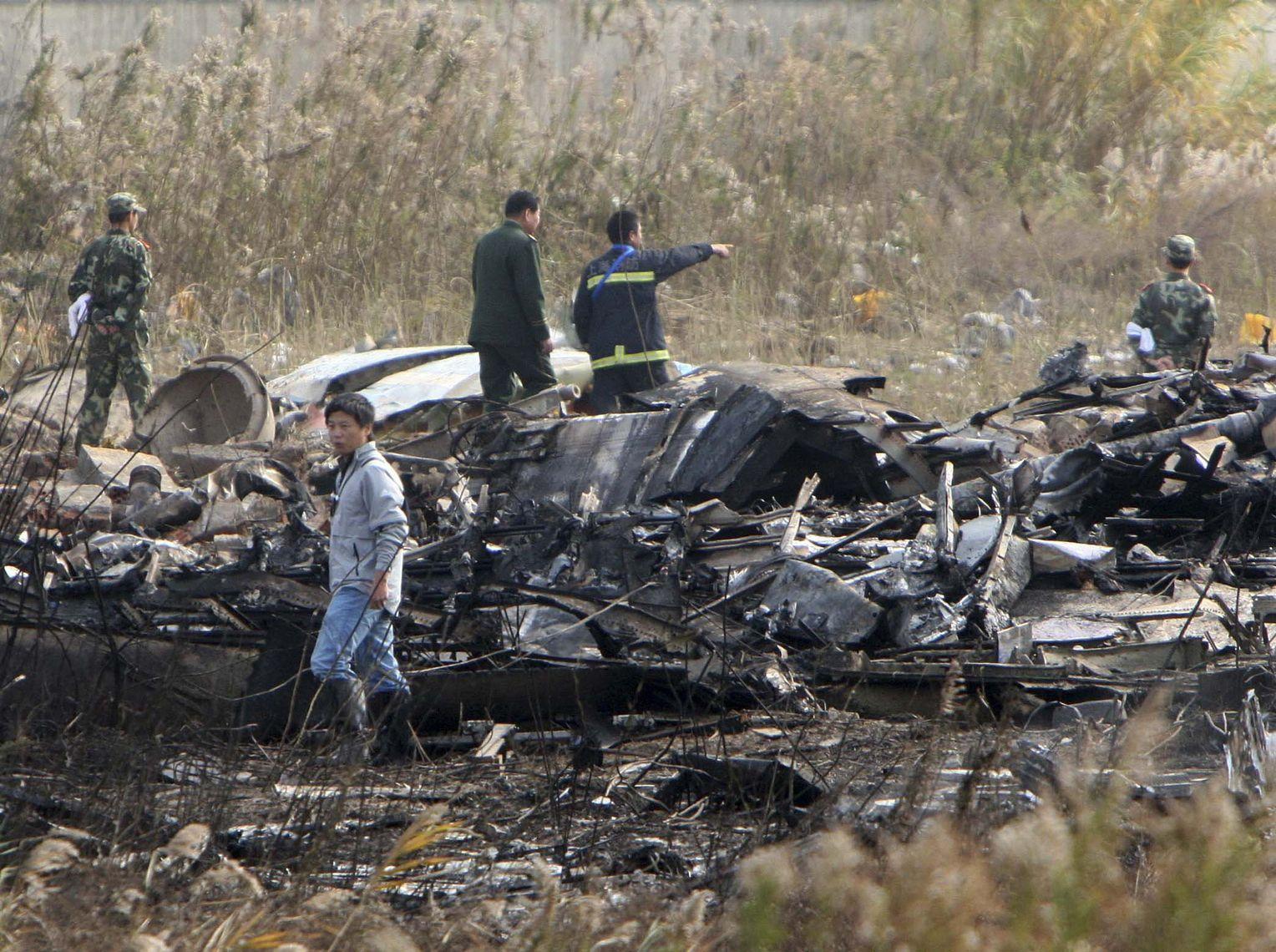 Flugzeugabsturz China
