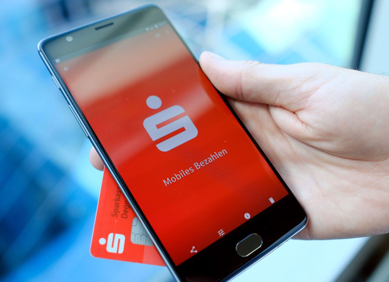 Smartphone-Bezahlsystem der Sparkassen