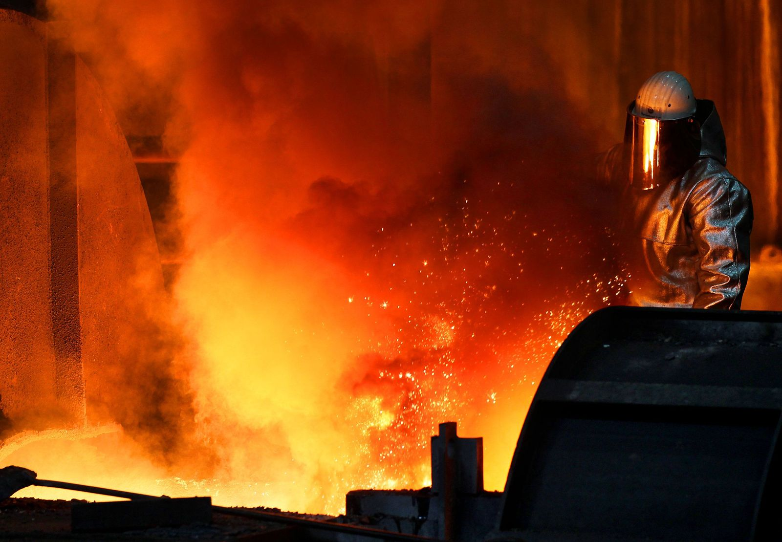 Thyssenkrupp - Stahlproduktion