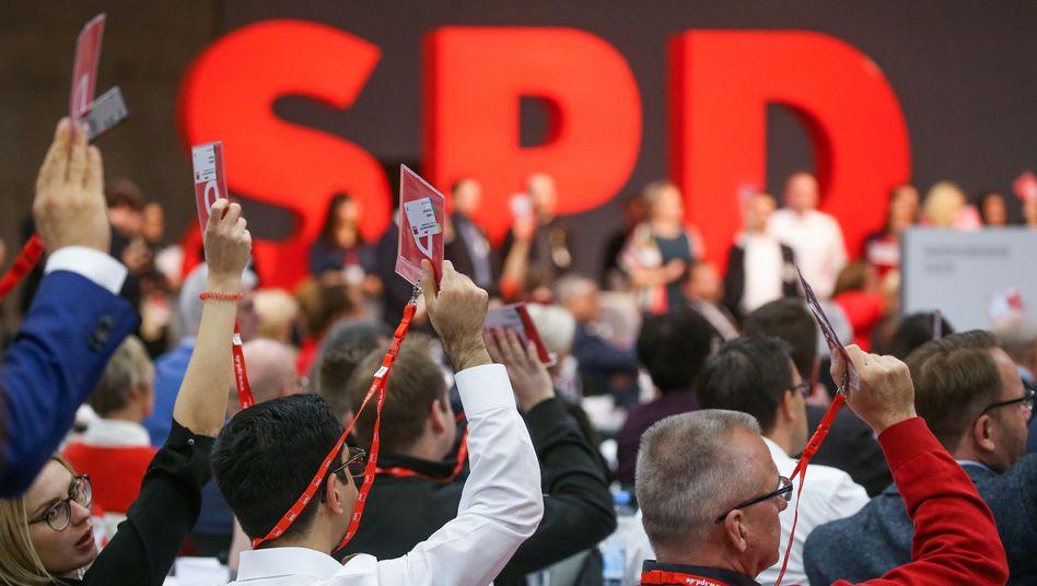 """Delegierte auf dem SPD-Bundesparteitag: """"Wir können nicht wieder bei Null anfangen"""""""