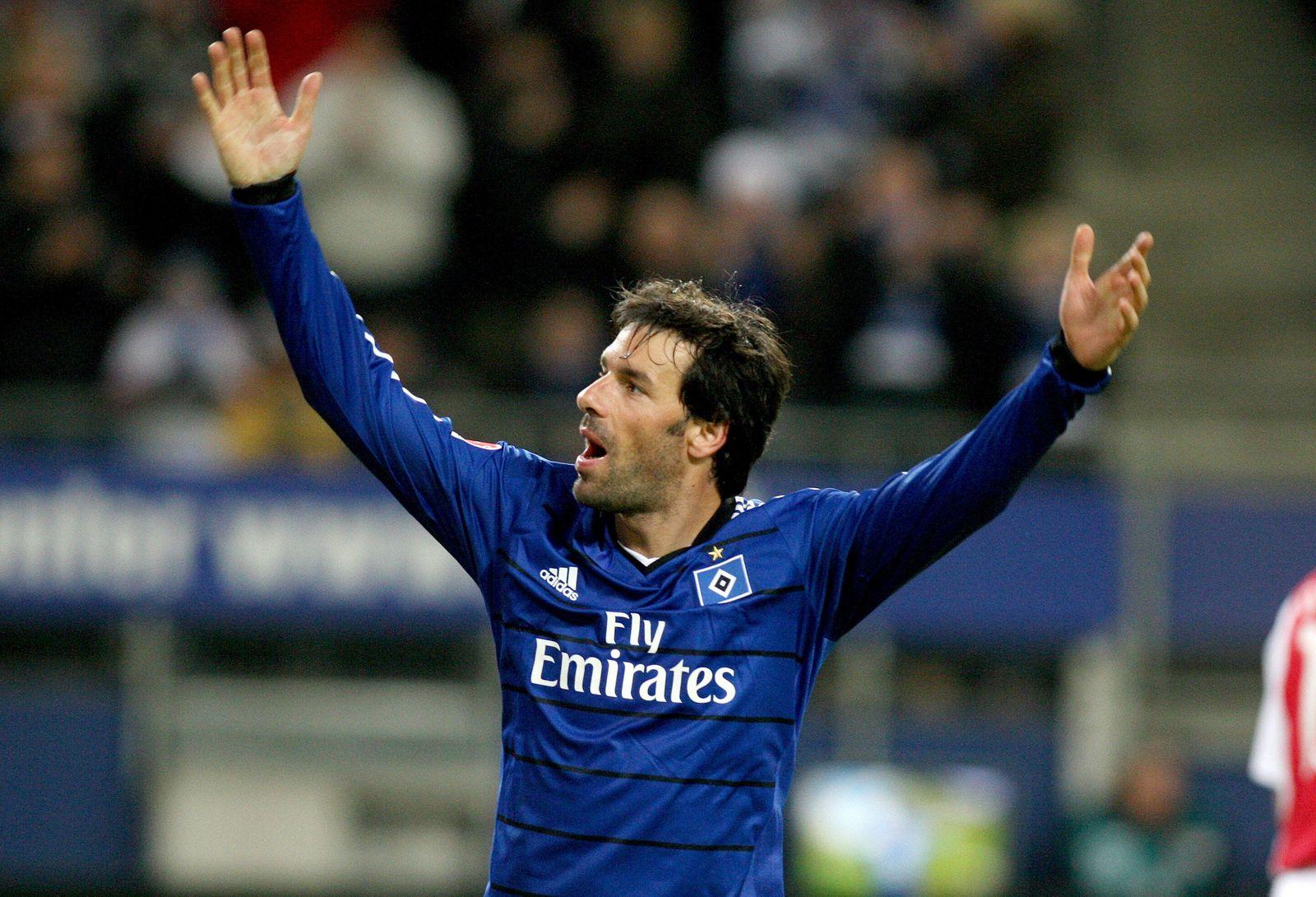 Van Nistelrooy Arme hoch
