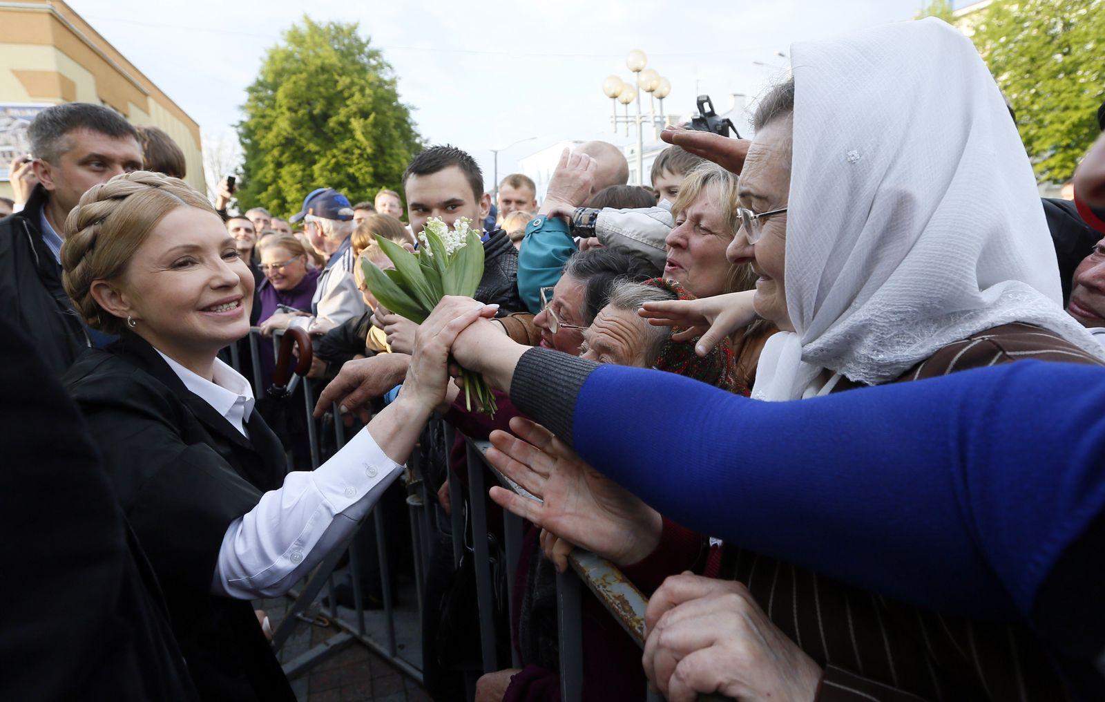 Julija Tymoschenko / Wahlkampf