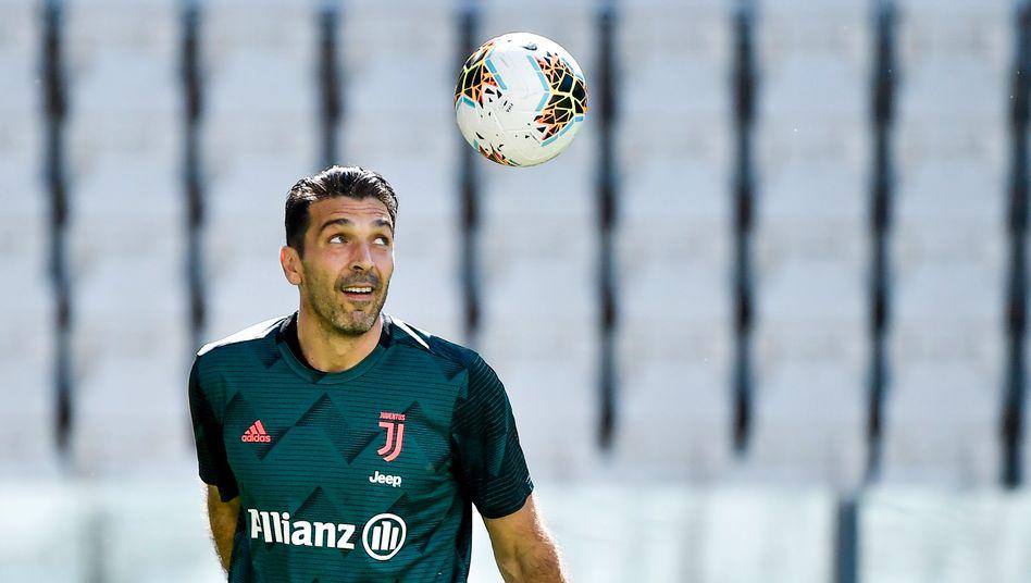 Gianluigi Buffon spielte erstmals 1995 in der Serie A