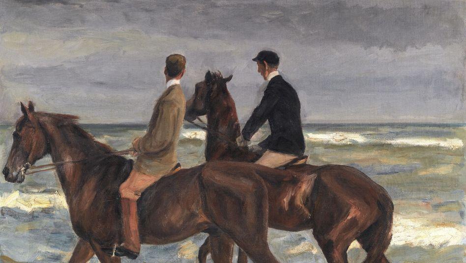 Max-Liebermann-Gemälde »Zwei Reiter am Strand« (1901): Die deutsche Regierung fühlte sich ertappt