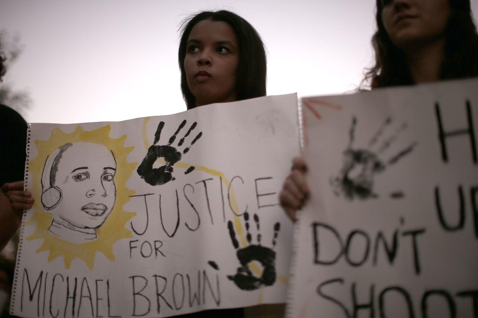 Ferguson Michael Brown Proteste