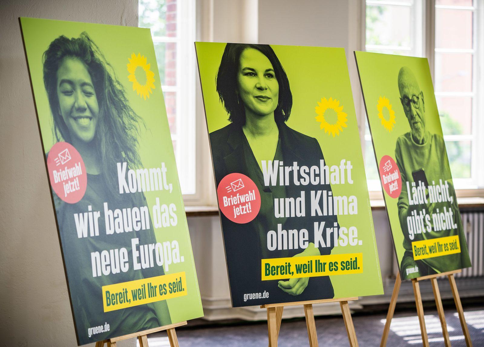 Grüne stellen Wahlkampagne vor