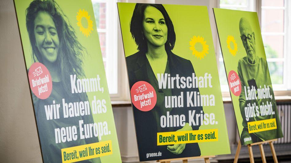 Grüne Wahlplakate: Was macht eigentlich die SPD?