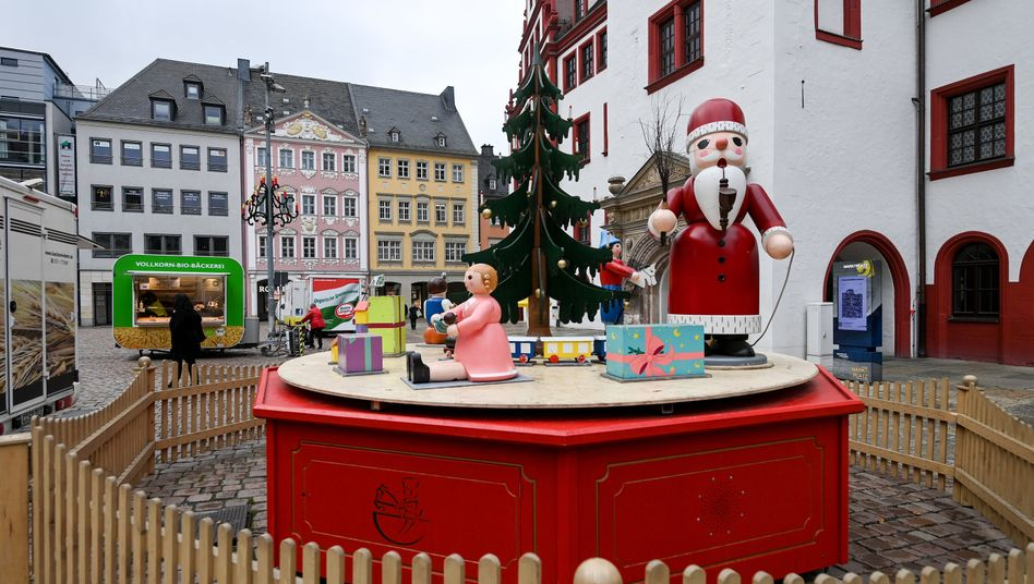 Weihnachtsschmuck in Chemnitz