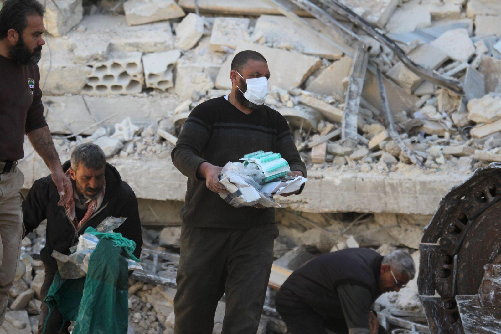Ärzte ohne Grenzen/Syrien