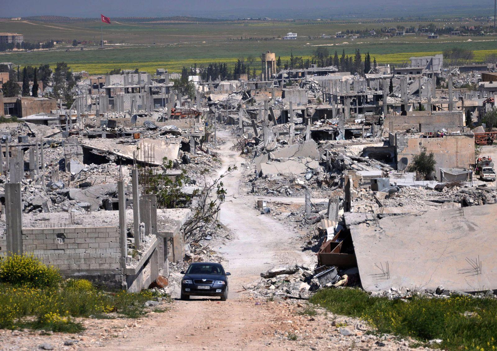 Islamic State Kobani Refugees