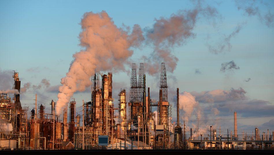 Ölraffinerie in den USA