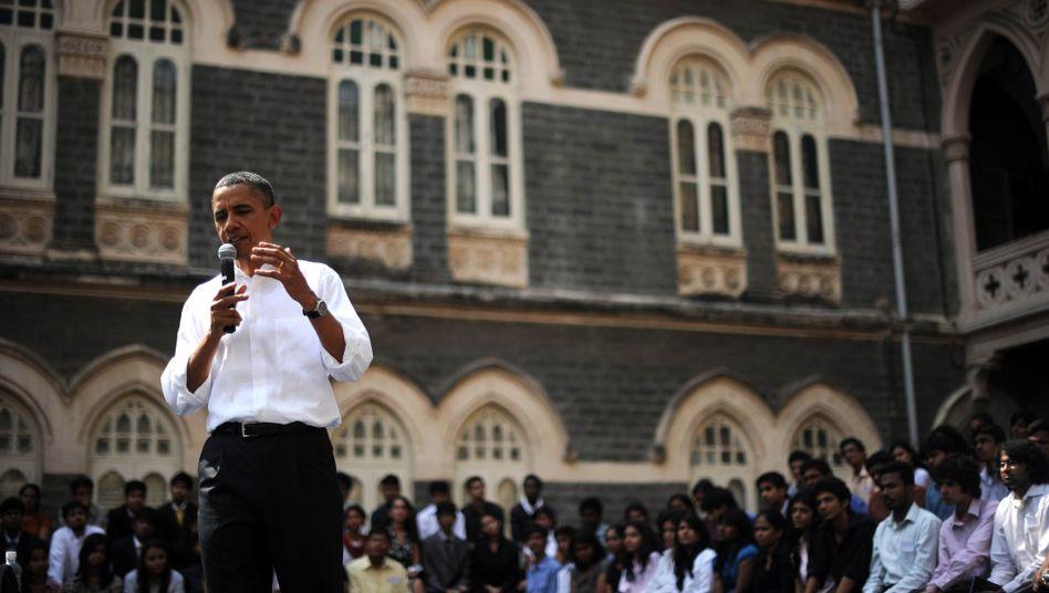 Obama in Mumbai: Partnerschaft zwischen den größten Demokratien der Welt