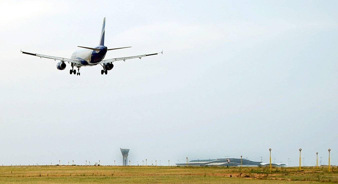 EINMALIGE VERWENDUNG Indien/ Flughafen Hyderabad