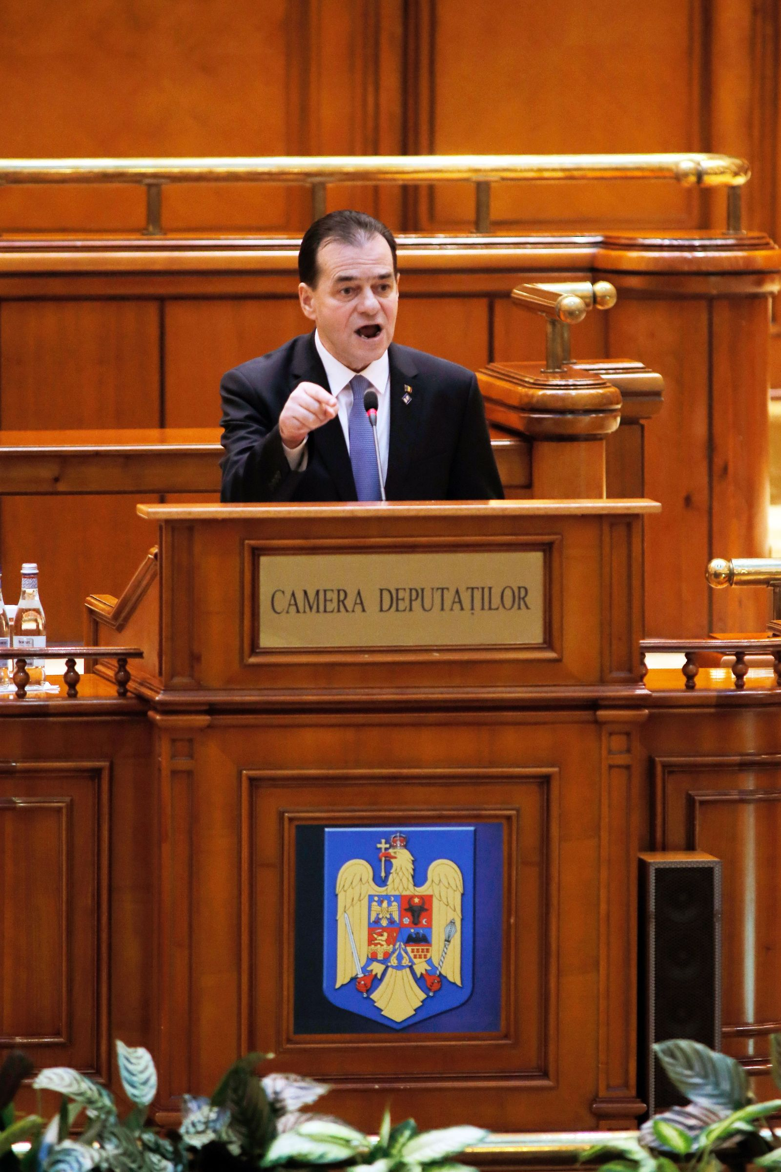Romanian government toppled by a no-confidence vote, Bucharest, Romania - 05 Feb 2020