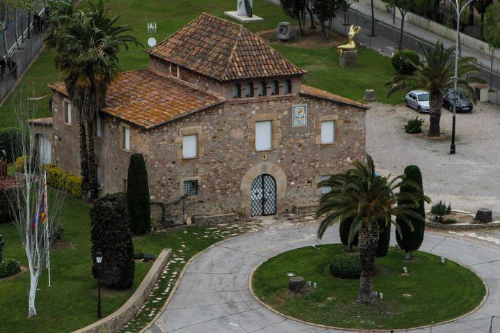 Das alte La-Masia-Gebäude