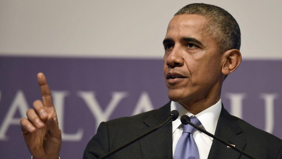 """US-Präsident Obama: """"Bodentruppen wären ein Fehler"""""""