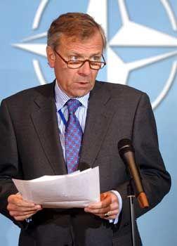Nato-Chef Hoop Scheffer