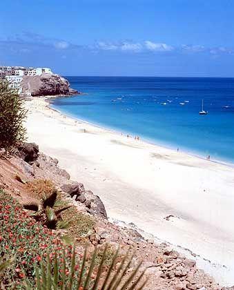 Fuerteventura: Weiße Strände locken Urlauber