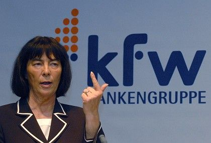 KfW's Ingrid Matthäus-Maier is accused of botching the IKB crisis.