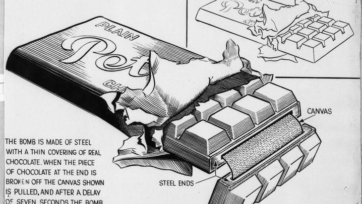In sieben Schritten: Wie eine Nazi-Schokoladenbombe Didi Hallervorden zum Killer machte